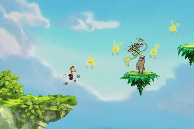Timing ist in Rayman Jungle Run alles!