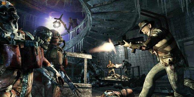 Cool: Die neue Zombie-Karte bietet vier Hollywood-Schauspieler im Kampf gegen einen Kult-Regisseur des Horrorfilms.