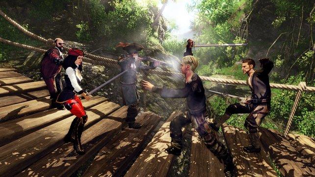 Yarr! In Risen 2 trefft ihr Piraten in der Südsee. Trotzdem habt ihr hier ein klassisches Rollenspiel.