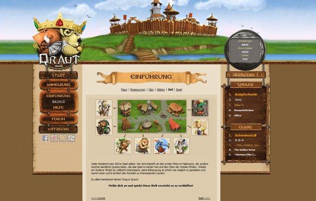 Neben den Multiplayer-Funktionen hat Qraut auch anderes zu bieten.