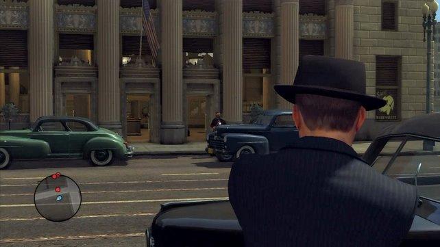Bankräuber lassen sich nur mit Gewalt zum Aufgeben überreden.