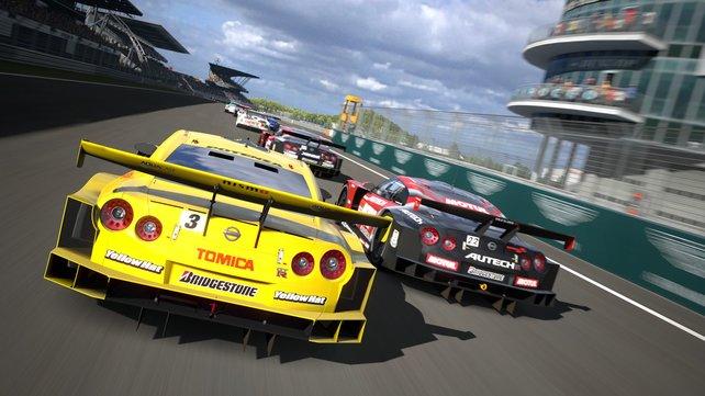 Rennsport-Enthusiasten aufgepasst: Gran Turismo 5 putzt die Konkurrenz weg.