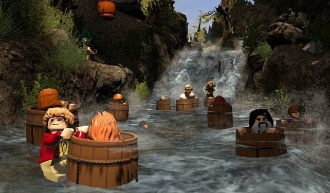 Im Spiel erlebt ihr bekannte Szenen aus den Filmen.