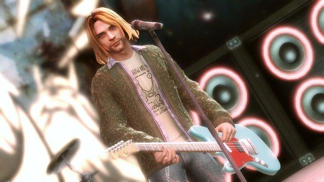 Die Witwe klagt gegen den Auftritt von Kurt Cobain in Guitar Hero 5.