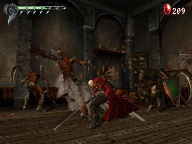 Das Schwert, Dantes Lieblingswaffe.