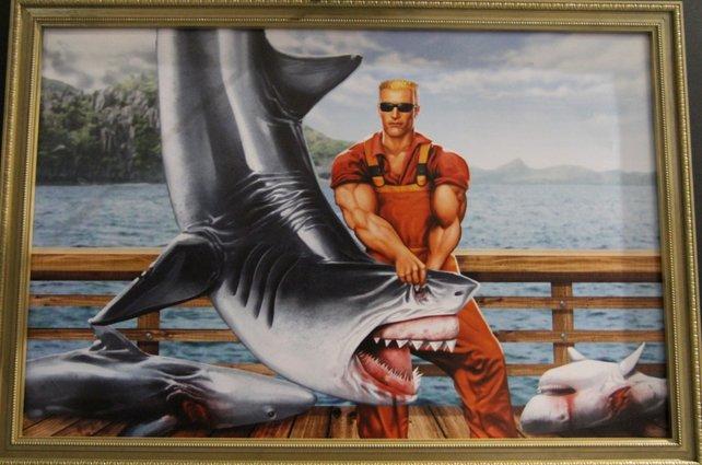 Den Duke hält niemand auf - Haie sind da beinahe lächerlich.