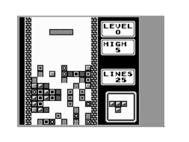 Tetris: Steine-Diskriminierung wegen der Hautfarbe? Auf dem alten Gameboy kein Thema.