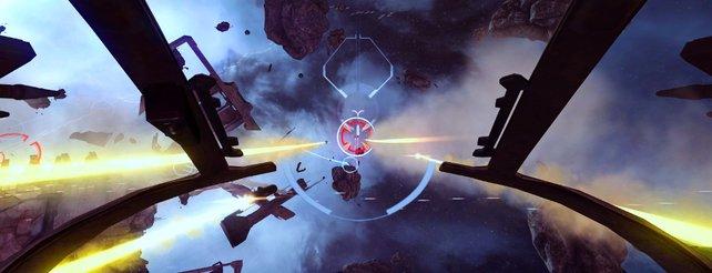 Eve - Valkyrie: Weltraumschlachten im Cockpit und mit Oculus Rift (Video)