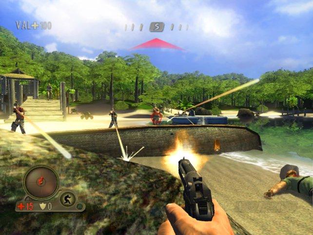 Das eher lineare Far Cry Instincts kommt 2005 für die erste Xbox.