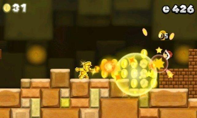 Bei Mario dreht sich dieses Mal alles ums Gold.