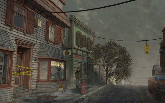 Wettereffekte hauchen Biddeford Leben ein. Was in Fullers Studio passiert ist? Wird nicht verraten.