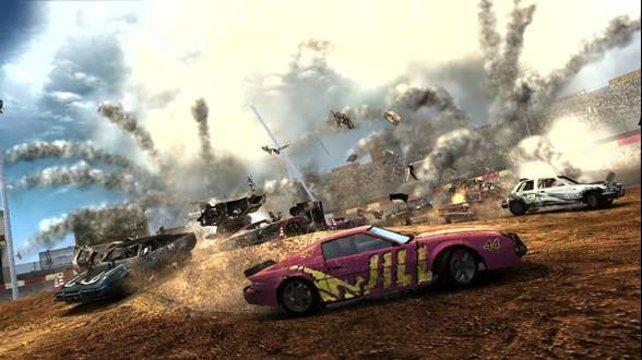 Die Destruction Derbys bereiten unglaublichen Spaß