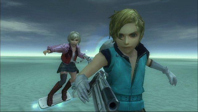 Die zwei Hauptfiguren des Spiels, Isa und Kachi.