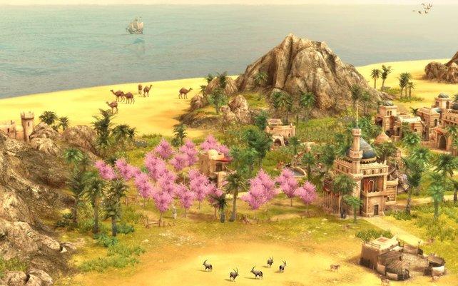 Der Orient bietet eine Vegetation mit völlig eigenen Rohstoffen.