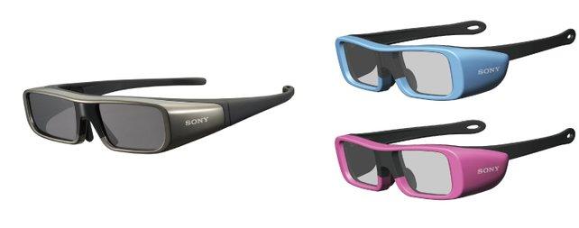 Die Shutterbrillen von Sony.