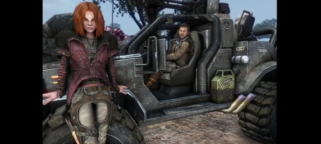 Irisa und Nolan aus der Fernsehserie sind ebenfalls für eine kurze Zeit mit von der Partie.