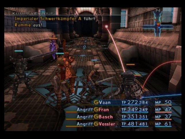 Kämpfe im Stil eines Online-Rollenspiels gab es auch in der Final-Fantasy-Geschichte.