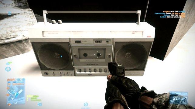Schwing das Tanzbein! In Battlefield 3 ist Musik aus dem Vorgänger versteckt!
