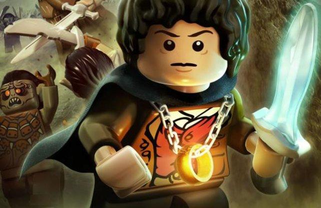 Frodo ist natürlich auch in der Lego-Variante der Träger des Rings.