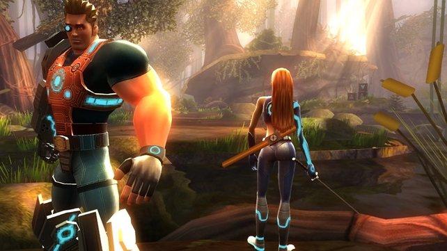 Novum, der rundeste Po im Wii-Universum - tolle Grafik!