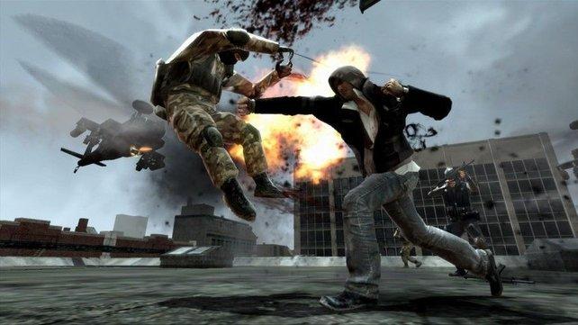 Radical hat bereits Spiele entwickelt (hier: Prototype), während Sledgehammer Games noch keine Titel am Markt hat.