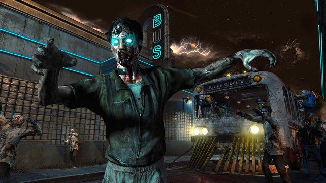 Darf nicht fehlen: Der Zombie-Modus machte schon den ersten Teil zum Online-Dauerbrenner.