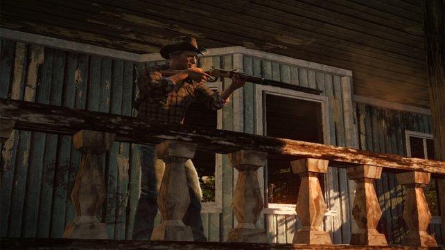 Hier kommen keine Zombies auf den Balkon!