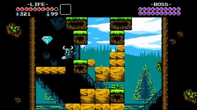 Grafisch bietet das Spiel 8Bit-Charme.