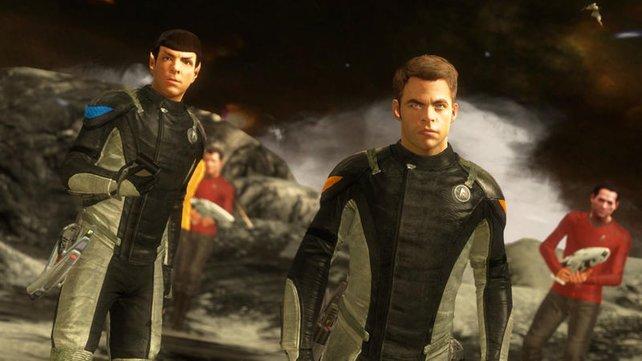 Je nachdem, ob ihr als Kirk oder Spock spielt, liegt der Fokus stärker auf Action oder Planung.