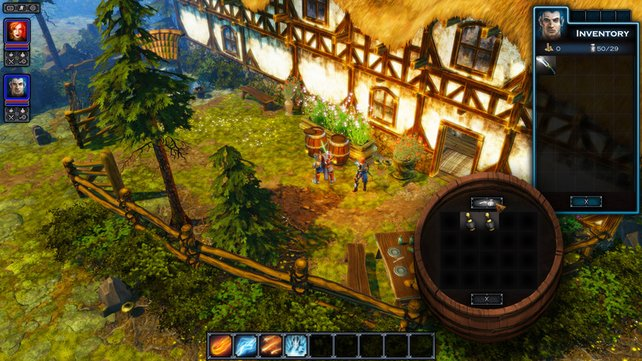 Das gesamte Spiel ist für zwei Online-Partner ausgelegt.