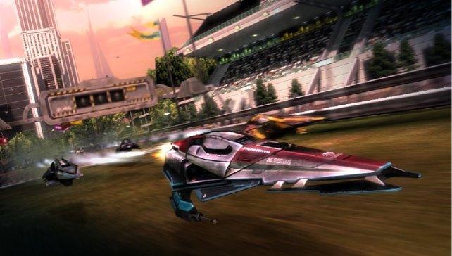 Schon seit PS1-Tagen steht Wipeout für stilvolle Grafik.