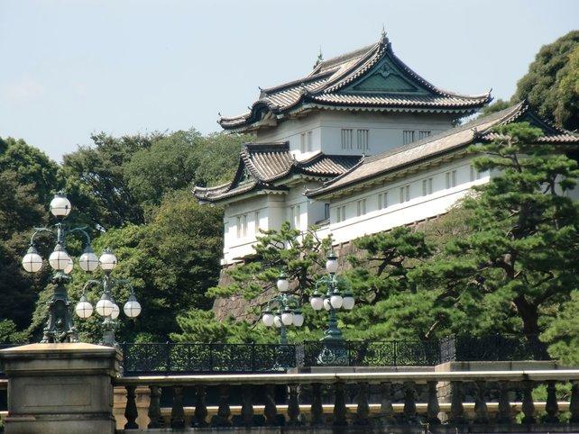 Malerisch: Der Kaiserpalast im Stadtviertel Tokyo.