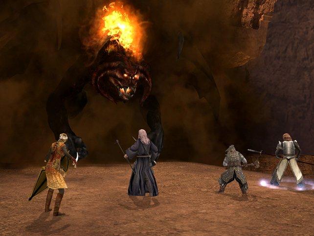 Mit Gandalf gegen übergroße Gegner