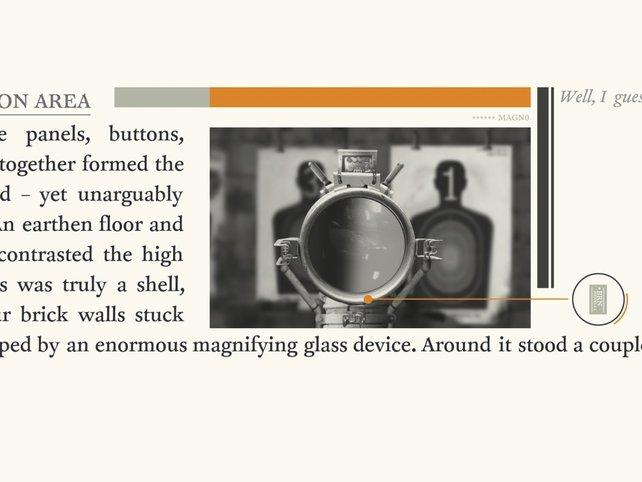 Raffiniert: Ihr arbeitet euch durch verzweigte Textpassagen sowie darin integrierte Puzzleeinlagen.