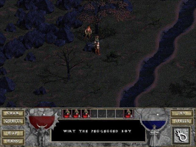 In Anspielungen kommen oft Figuren aus den ersten zwei Diablo-Teilen vor.