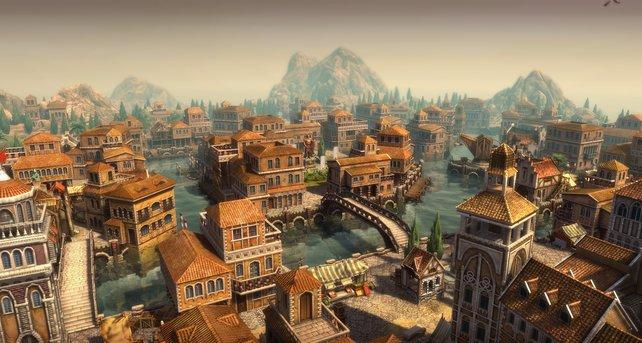 Prächtig, prächtig: Venedig sieht man sofort an, dass hier viel Geld dahintersteckt.