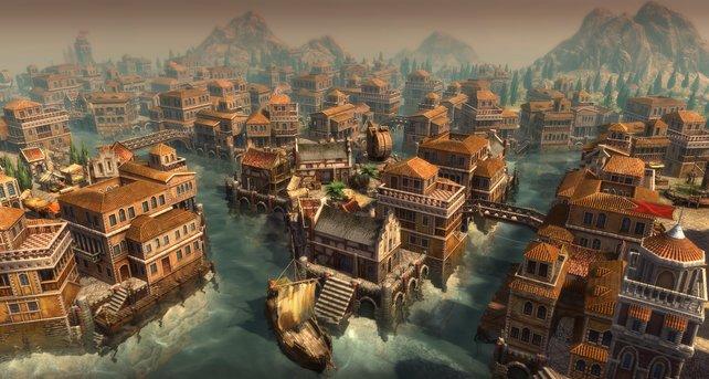 Viel Wasser und jede Menge Brücken: Die Venezianer kommen im typischen Stil der Lagunenstadt daher.