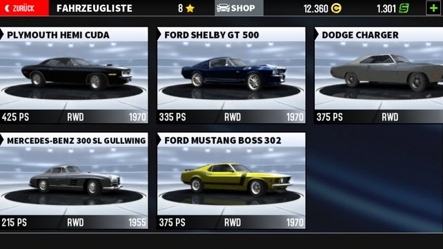 Es dauert einige Zeit bis ihr einen Ford Shelby euer Eigen nennen könnt.
