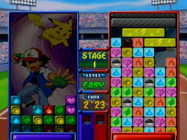 Das Spielprinzip erinnert etwas an das bekannte Tetris.