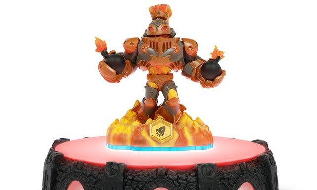 Eine der neuen Spielfiguren: Blast Zone