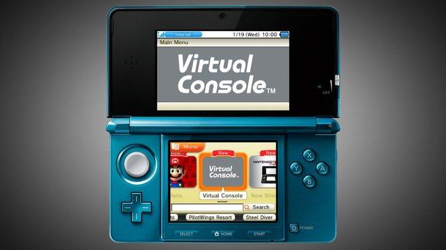 Der kommende Einkaufsbildschirm des 3DS für Download-Spiele.