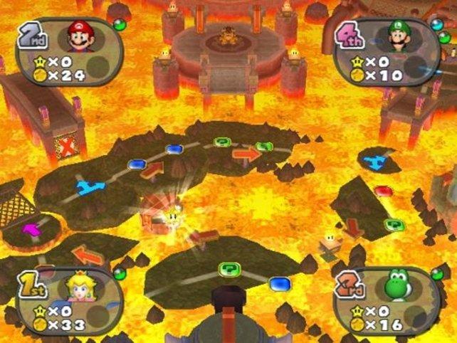 Wer keine Ahnung von Marios Partys hat, mag sie für leicht chaotisch halten.