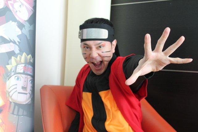 Hiroshi Matsuyama, für die Ultimate Ninja-Serie zuständig, ist ein echter Naruto-Fan.