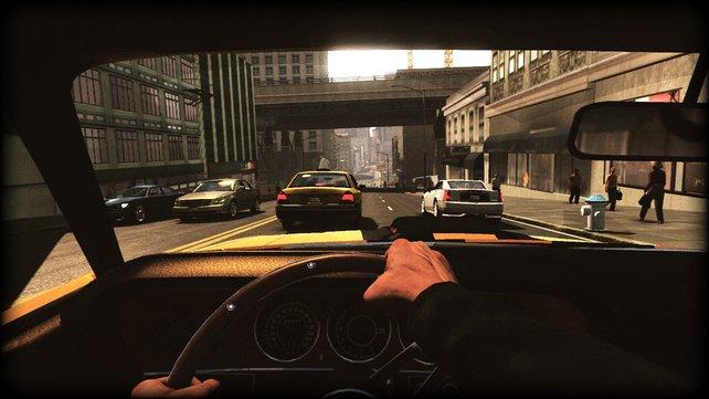 Jedes Fahrzeug bietet eine gelungene Cockpit-Ansicht