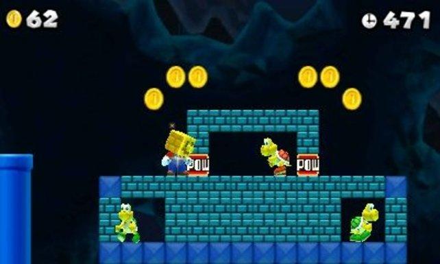 Mario-Veteranen kennen solche Szenen.