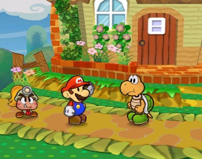 Die Optik von Paper Mario ist schon einmalig, doch die irren Spielideen übertreffen jede Erwartung.