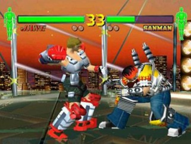 Test DC Fighting Vipers 2 - Test