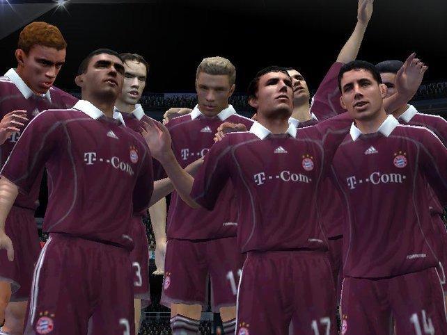 Berechtigter Jubel nach dem Gewinn der Champions League