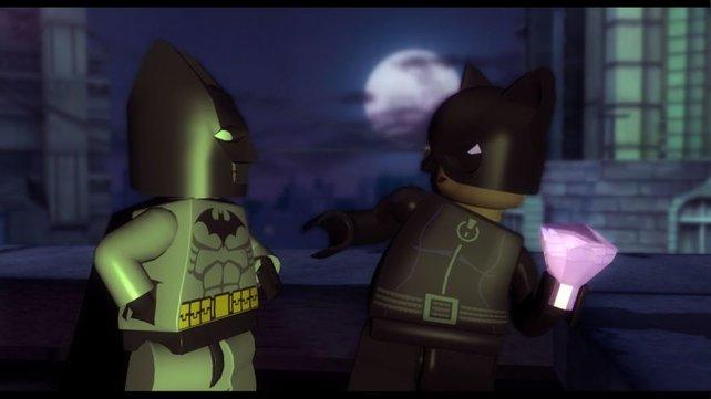 Catwoman und Batman im Tet-a-tet.