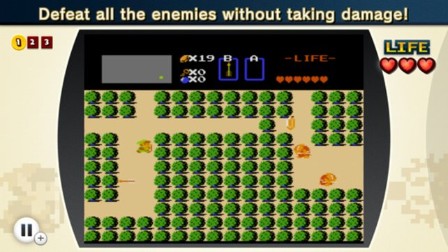 Auch die erste Zelda-Episode ist für manch eine Herausforderung gut.